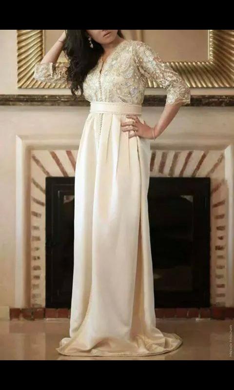 robe de mariée takchita à bannir ??