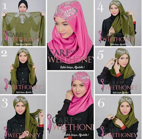 comment mettre le hijab. Black Bedroom Furniture Sets. Home Design Ideas