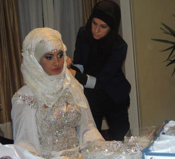 robes de mariée et hijab