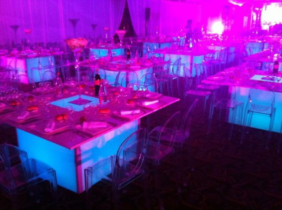 Table led lumineuse for Led lumineuse
