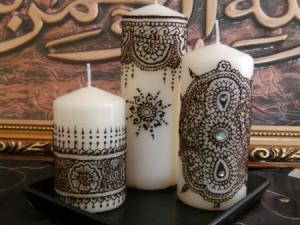 cadeau pour mes invit s le soir du henn. Black Bedroom Furniture Sets. Home Design Ideas