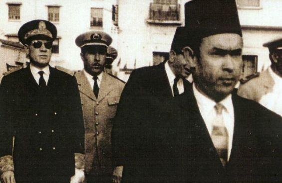 Mehdi Ben Barka, Ahmed Dlimi et Mohamed Oufkir. / Ph. Flickr
