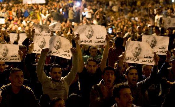 Entre 12.000 et 15.000 manifestants (autorités locales) — Marche de Rabat