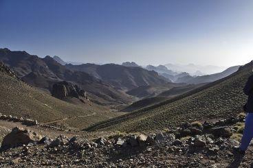 Jbel Saghro, paysage lunaire et fief de la tribu nomade légendaire des Ait Atta