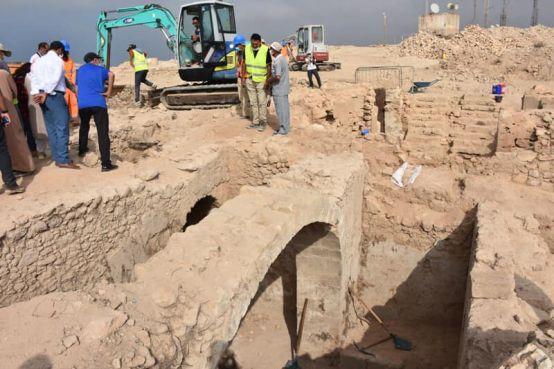 Les remparts saadiens découverts dans la Kasbah d'Agadir Oufella. / Ph. Commune d'Agadir