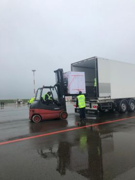 RAM plane with 2 million doses of the AstraZeneca vaccine arrives in Casablanca. / Ph. India in Morocco - Twitter