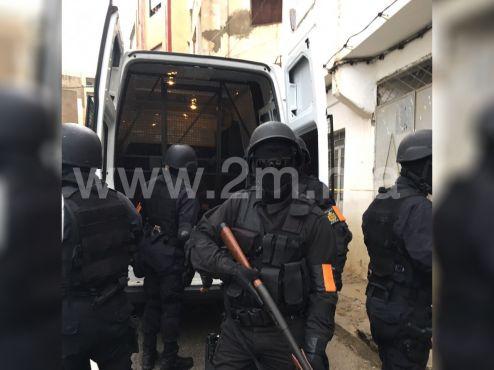 Des attentats «imminents» auraient été déjoués ce vendredi par le Bureau central des investigations judiciaires. / Ph. 2m.ma