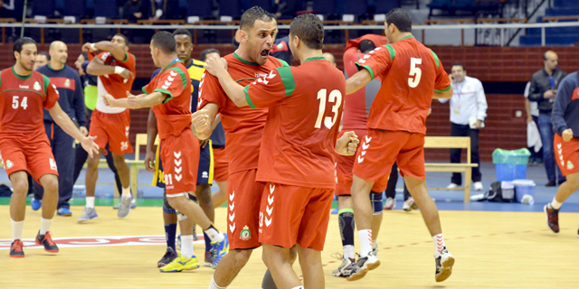 Can de handball 2016 le maroc en quarts de finale - Coupe d afrique handball ...