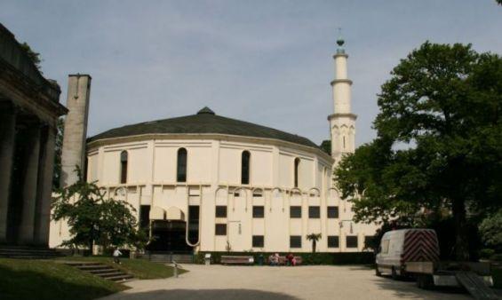 La Grande Mosquee De Bruxelles Ph Capture Decran Google Maps