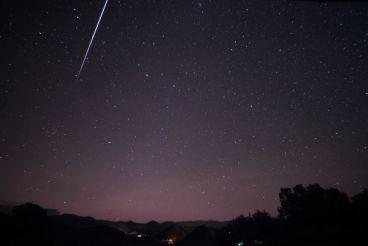 Astronomy : A fireball flies over the Mediterranean, falling off the Moroccan coast