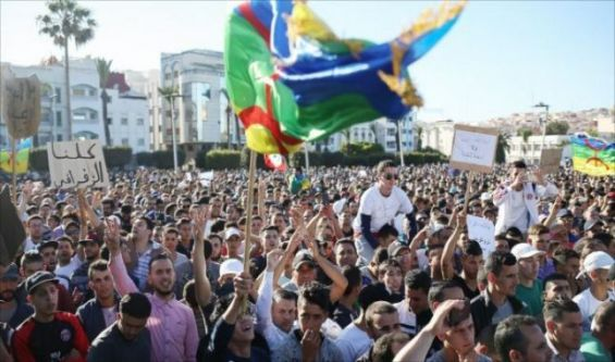 Nouvelle manifestation dispersée au Maroc