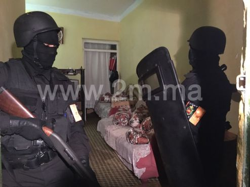 """An """"imminent"""" attack has been thwarted by the Central Bureau of Judicial Investigation./Ph. 2M.ma"""