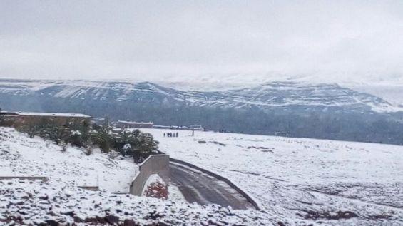 De la neige dans le désert — Maroc