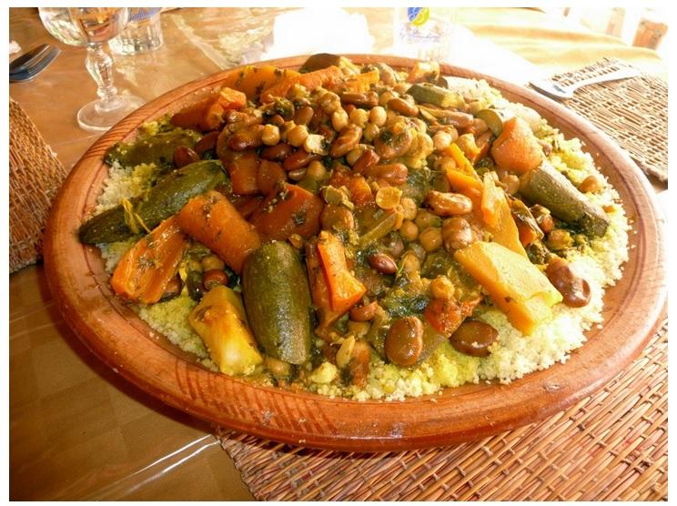 Le ra et le couscous bient t au patrimoine mondial de l - Maroc cuisine traditionnel ...
