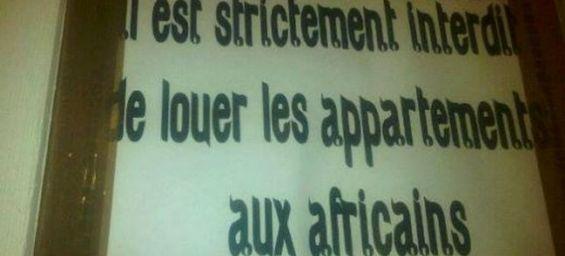 racisme anti noir au maroc location d 39 appartements interdite aux africains casablanca. Black Bedroom Furniture Sets. Home Design Ideas