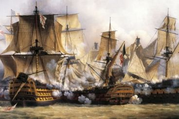 In 1805, Morocco supplied the British fleet ahead of the Battle of Trafalgar