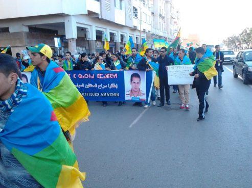 Le mouvement amazigh réclame la libération de deux des siens.