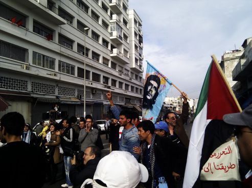Marche de soutien pour Gaza à Casablanca (Youssef Dahmani - Yabiladi.com)