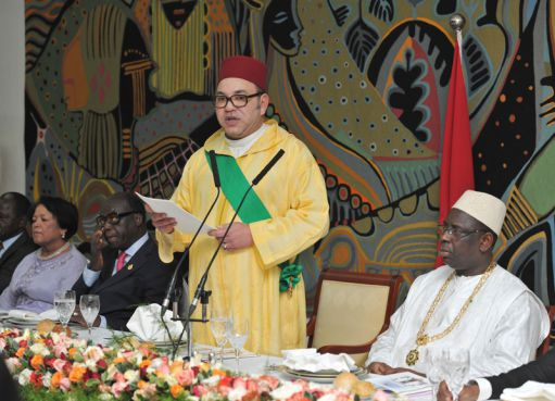 Sénégal : Mohamed VI entame sa visite officielle en Afrique francophone