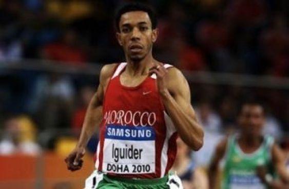 L'athlète Abdelati Iguider s'est, quant à lui,  accroché à la quatrième place chez les messieurs.
