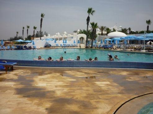 Journée à la piscine / Photo collègiens de Betz