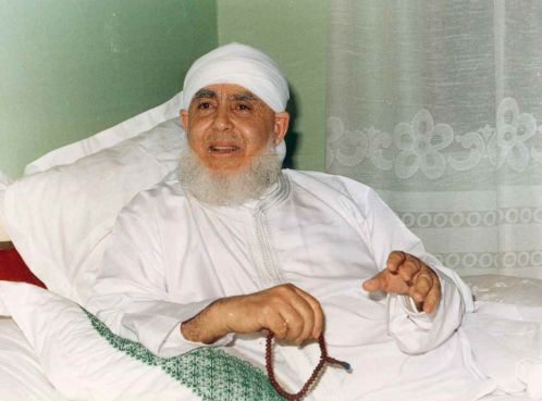 Cheikh Hamza de la confrérie Qadirriyya Boutchichiyya