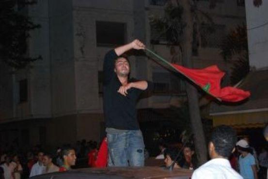 Le drapeau marocain a flotté très tard ce samedi sur Rabat