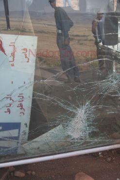 الناظور : حادثة سير تودي بحياة عشرة أشخاص (فيديو + صور)