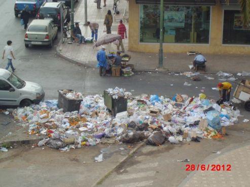 Rabat, près du centre ville jeudi 28 juin et le lendemain, la ville a été inscrite au patrimoine mondial de l'Unesco.