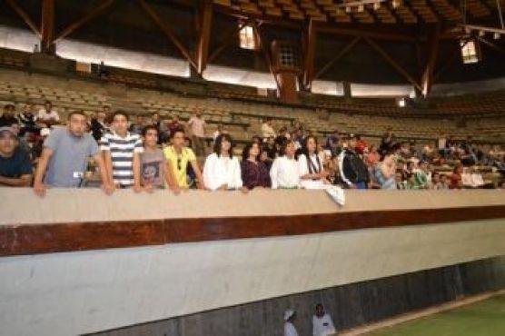... acclamée par le public, même si pas tellement de supporteurs ont trouvé le chemin jusqu'à la salle du complexe sportif Mohamed V samedi dernier.