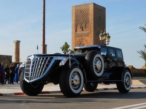 Maroc : Un milliardaire émirati entretient des voitures improbables à Rabat