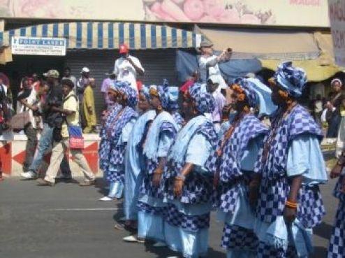 Une marche populaire riche en couleurs...