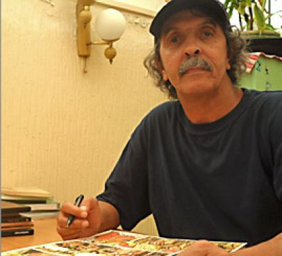 Abdelaziz Mouride, le père de la BD marocaine