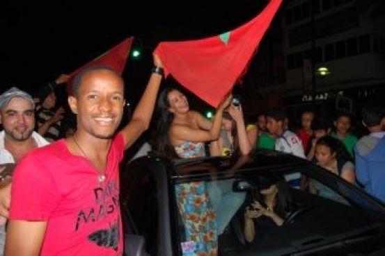 Au final, il ne fallait pas forcément être à Marrakech pour fêter dignement le succès des Lions de l'Atlas