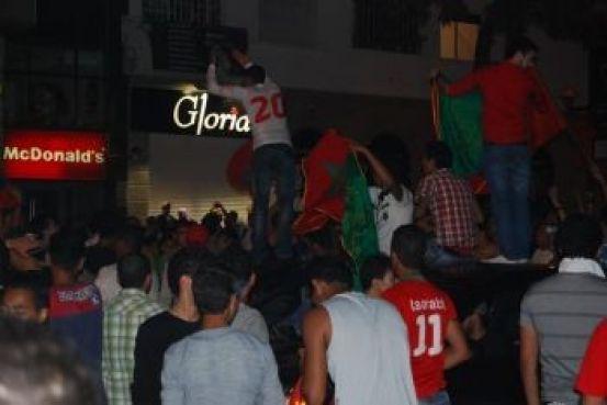 L'Avenue Fal Ould Omeir de Rabat, habituellement fréquentée par des véhicules