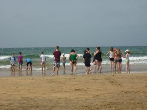 Journée à la plage / Photo collègiens de Betz