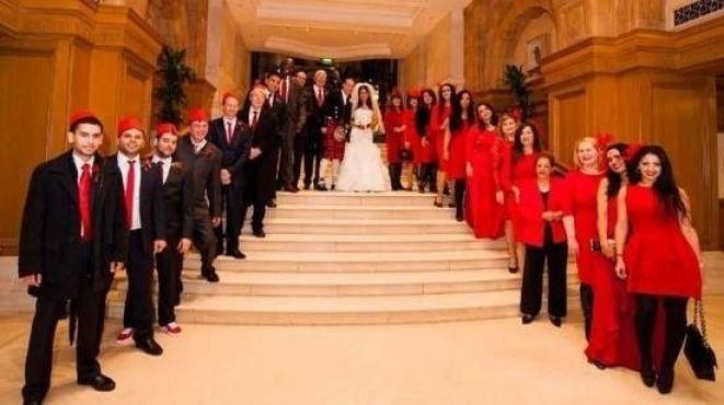 حفل زفاف أسطوري للفنانة المغربية سناء موزيان [صور]