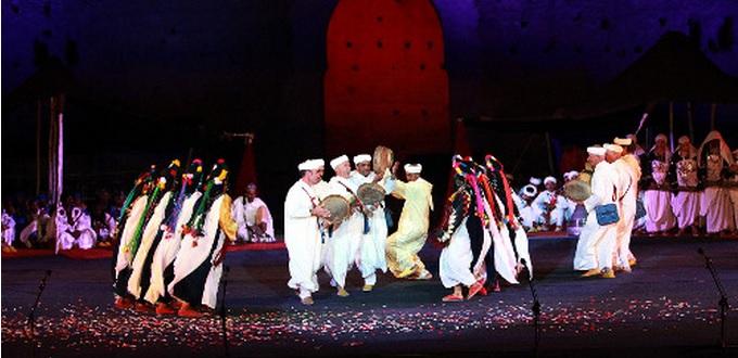 Marrakech le festival national des arts populaires aura for Arts populaires