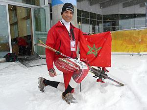 ski alpin un marocain aux chionnats d europe en salle