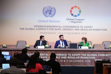 Migration: La Conférence intergouvernementale de Marrakech baisse le rideau