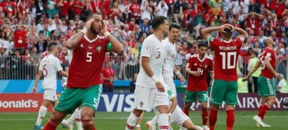 Mondial 2018 : Le Maroc éliminé après sa défaite face au Portugal