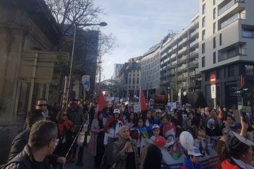 Hirak : Des milliers de manifestants à Bruxelles à l'appel de Nasser Zefzafi