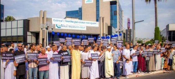 Nice : Des musulmans demandent à Christian Estrosi de leur laisser la mosquée En Nour