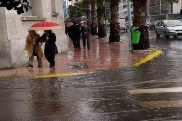 Maroc : Averses orageuses, chute de grêle et rafales dans plusieurs provinces
