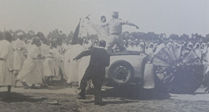 La première tentative d'assassinat de Mohamed Ben Arfa par Allal Ben Abdellah. / Ph. DR