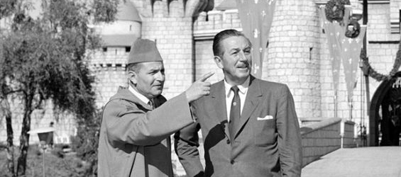 History : When King Mohammed V visited the first Disneyland park