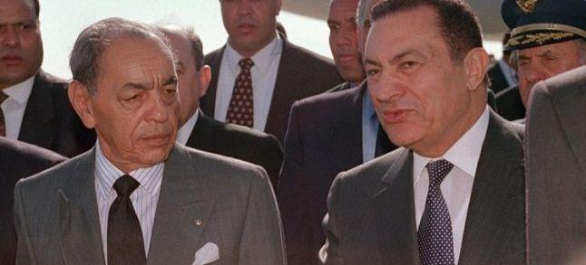 محمد حسني مبارك.. من الأسر في المغرب إلى ربط علاقات قوية بالحسن الثاني ومحمد السادس
