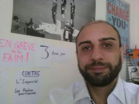 Maroc un ex journaliste de luxe radio en grève de la faim