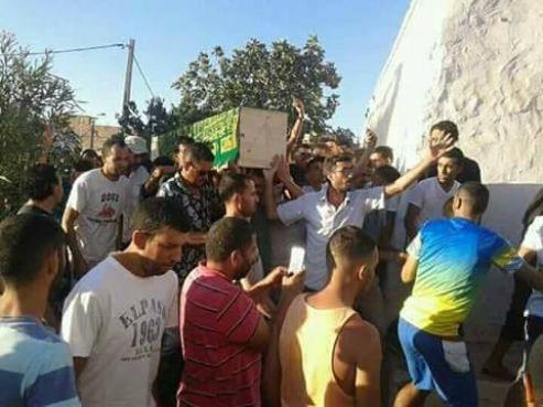 Funérailles d'Imad El Attabi, mercredi 9 août à Al Hoceima. / Ph. Al Aoual