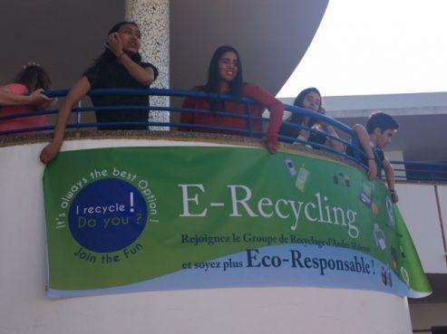 Camil Chaari est le fondateur de E-Recycling, une initiative environnementale unique pour recycler les déchets électroniques. / DR